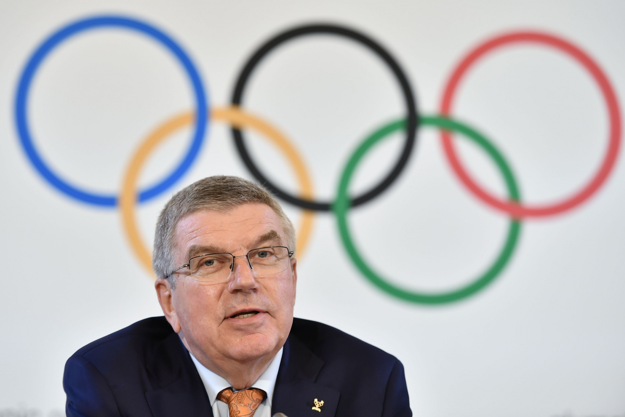 IOC President Thomas Bach will attend the G20 summit in Osaka next week ©Getty Images