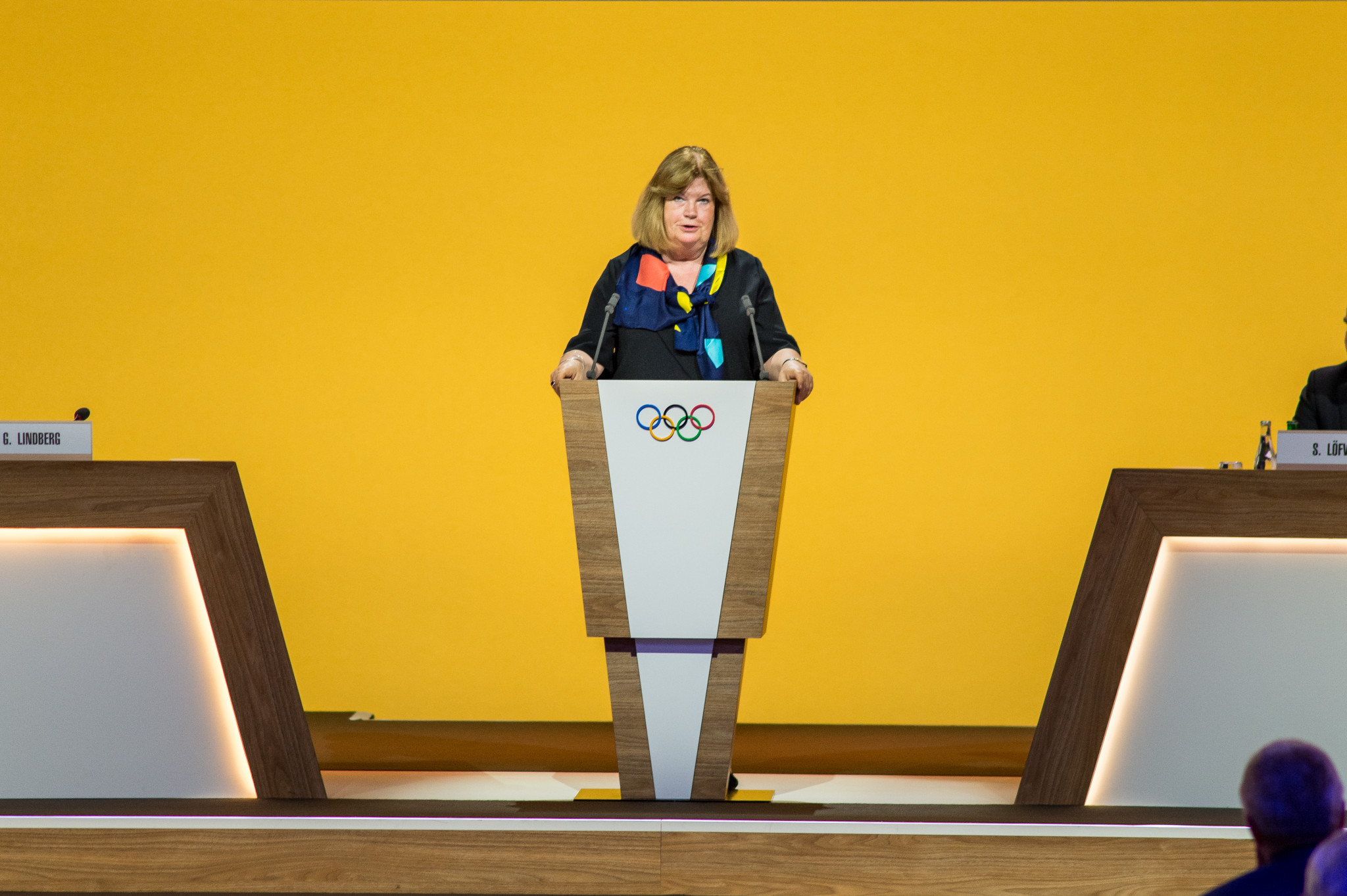 Gunilla Lindberg challenged IOC members to prove the New Norm reforms were not just talk ©Getty Images
