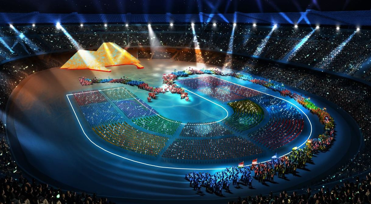 The Summer Universiade's Opening Ceremony at San Paolo Stadium in Naples on July 3 will be broadcast live on the Olympic Channel as part of its extenisve coverage of the event ©Twitter