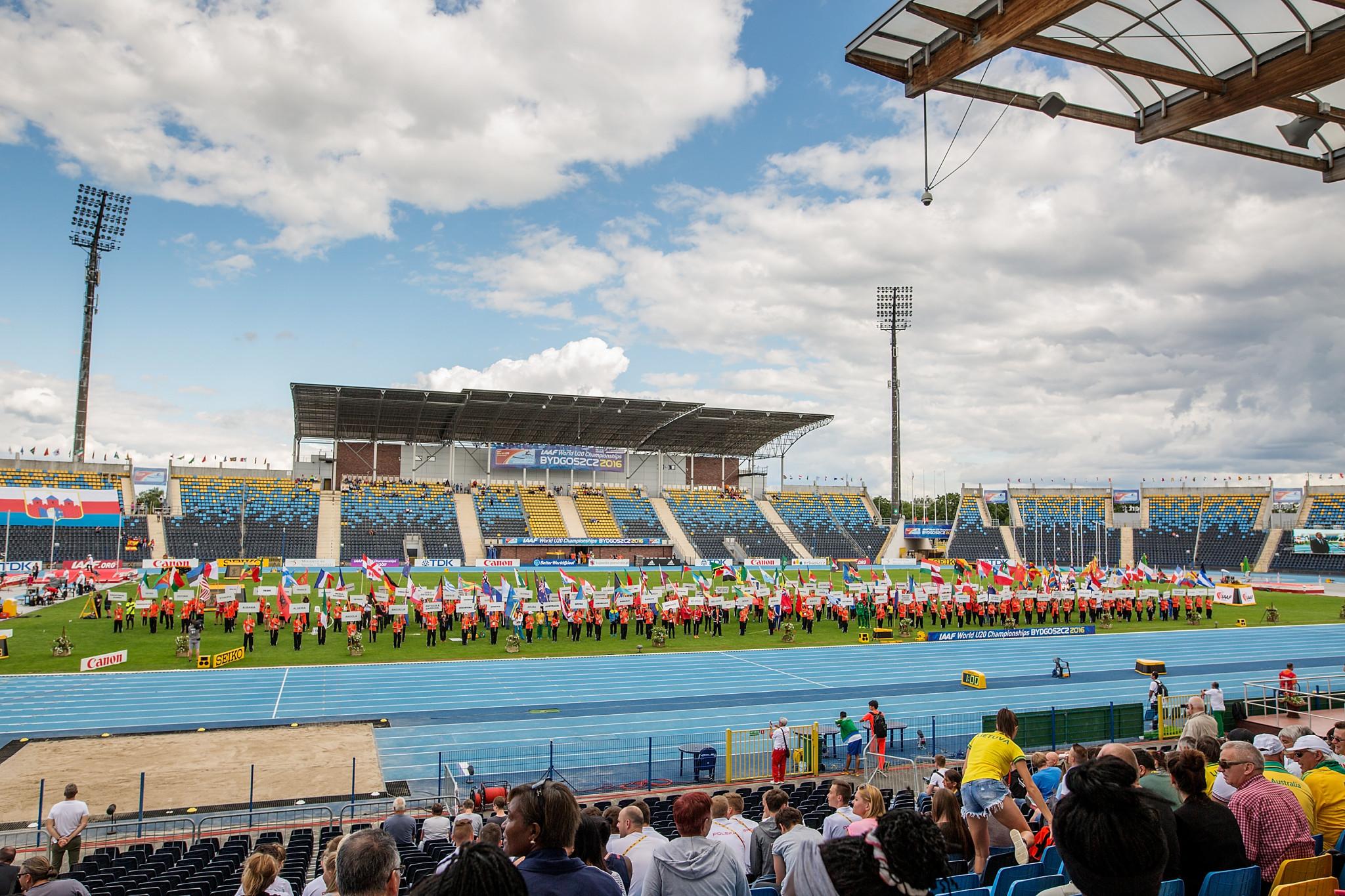 The 2020 World Para Athletics European Championships are due to take place at Bydgoszcz's Zdzisław Krzyszkowiak Stadium ©Getty Images