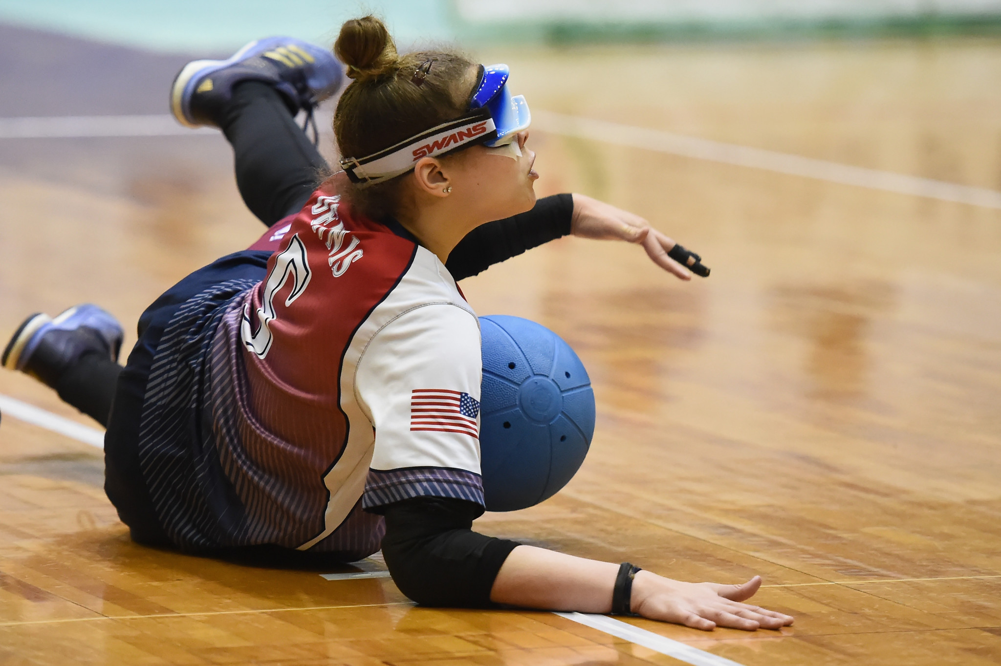 New road crossings built in Fort Wayne for IBSA Goalball and Judo International Qualifier