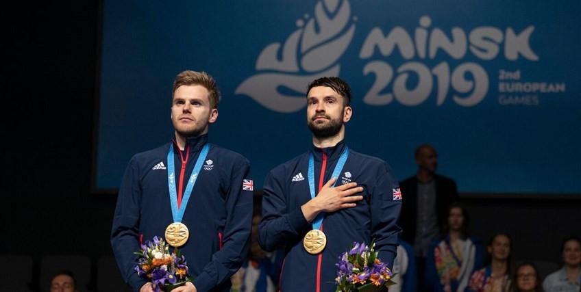 Langride and Ellis lift European Games badminton men's doubles title as British players enjoy successful day