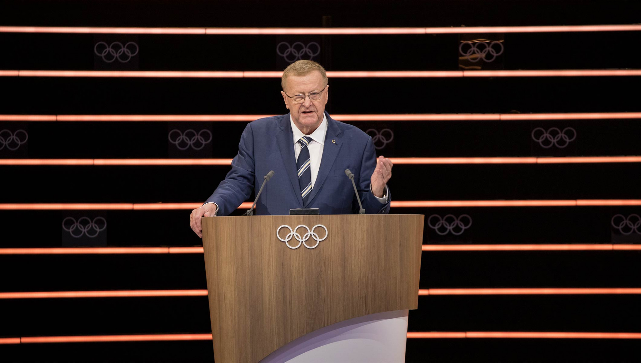 IOC vice-president John Coates shared Seiko Hashimoto's sentiments over hosting the Tokyo Olympics next year, despite the threat of the coronavirus crisis ©Getty Images