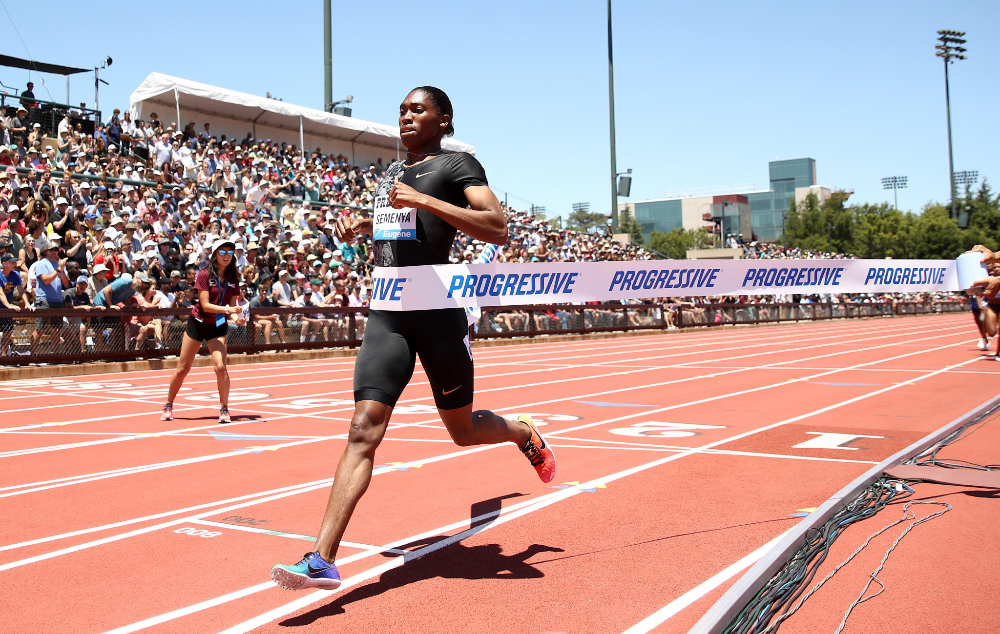 Semenya makes most of her IAAF Diamond League comeback in California