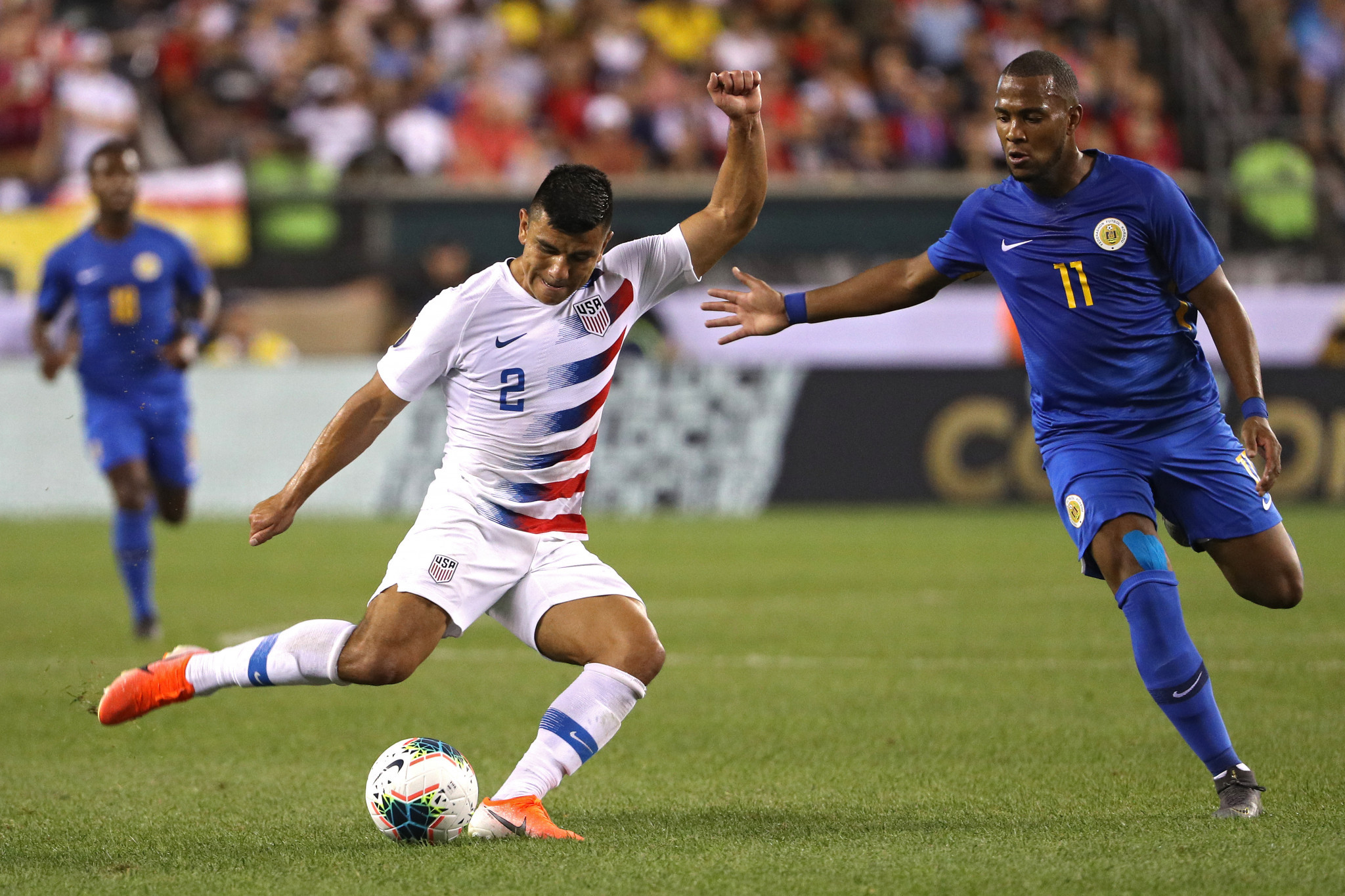 United States see off Curaçao to set up Jamaica CONCACAF Gold Cup rematch