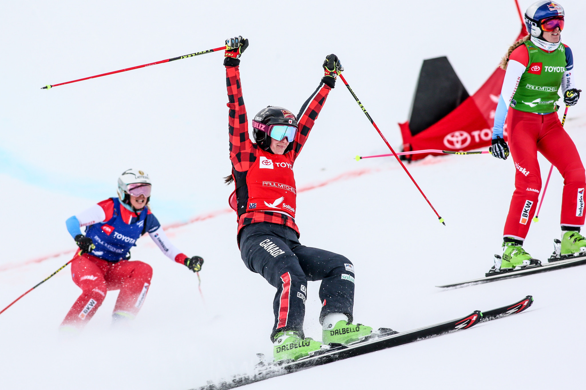 World champion Marielle Thompson headlines the Canadian ski cross team nominations ©Getty Images