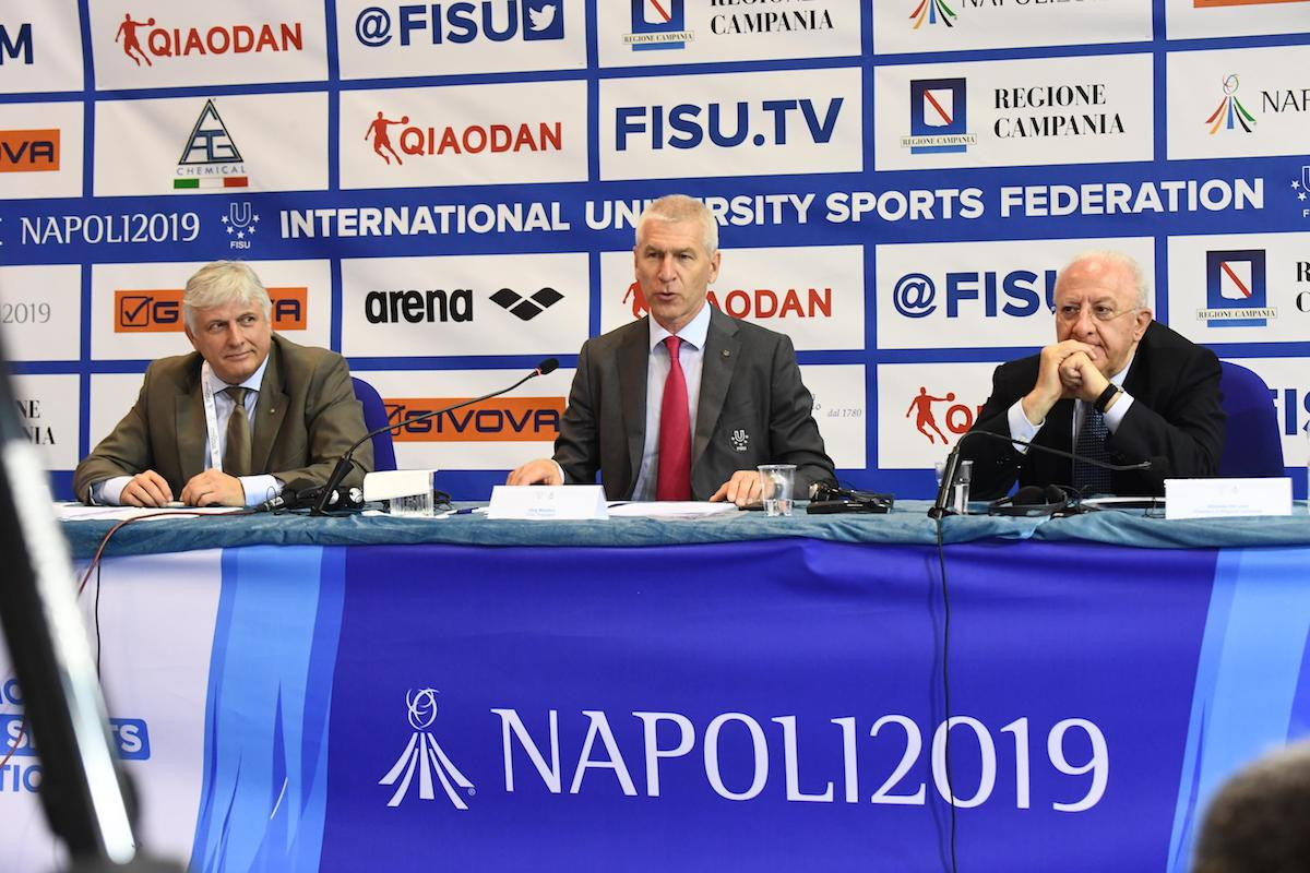 """FISU secretary general predicts """"excellent"""" Summer Universiade as excitement for Naples 2019 grows"""