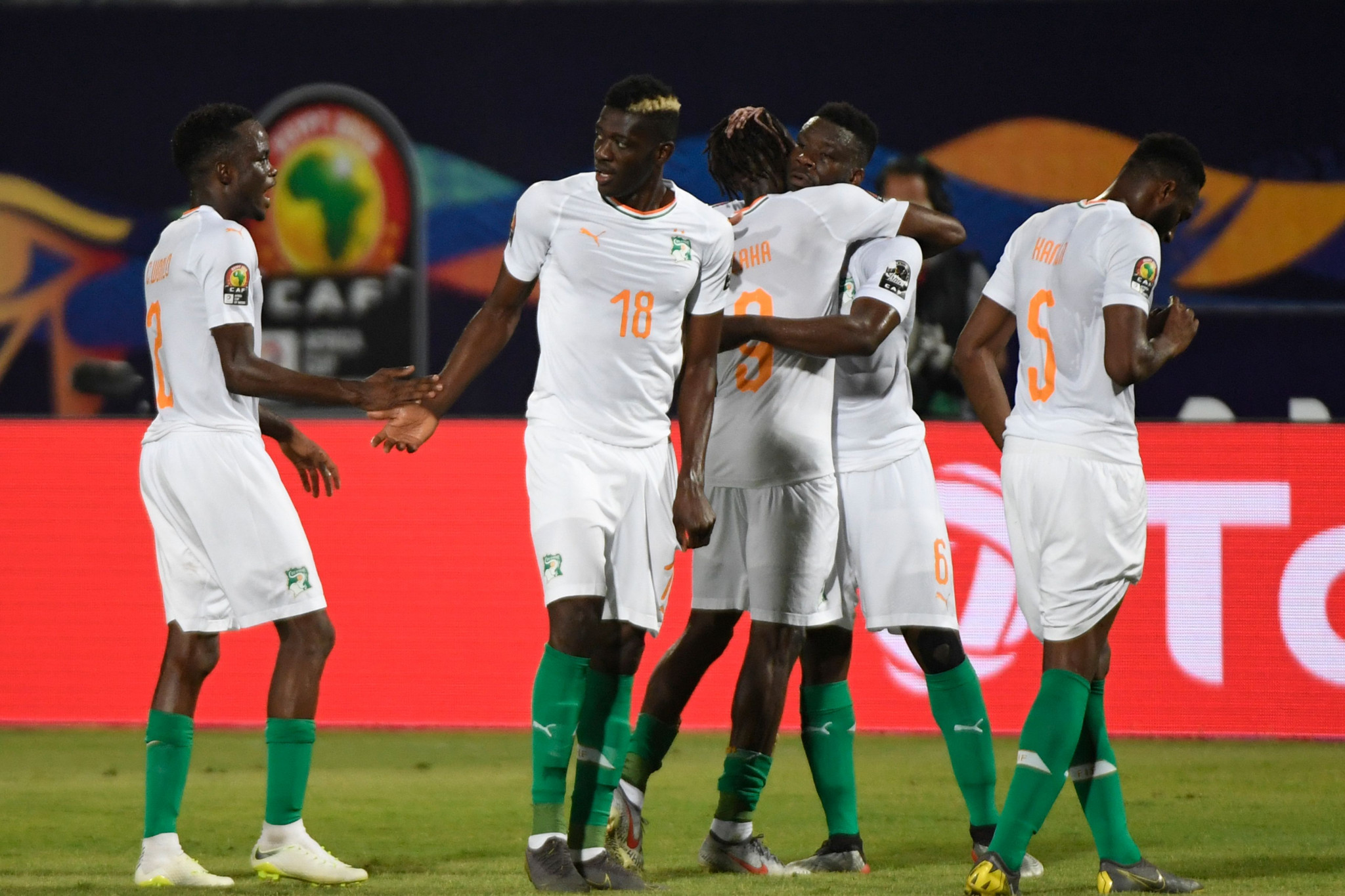 Ivory Coast see off Namibia to reach last-16 at Africa Cup of Nations