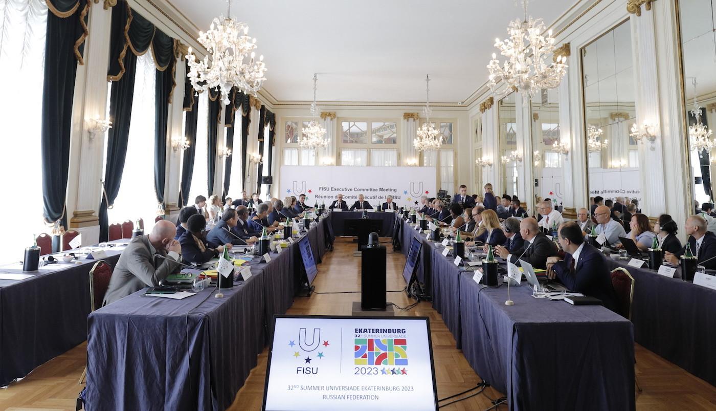 Yekaterinburg presented their bid to the FISU Executive Committee meeting here ©FISU