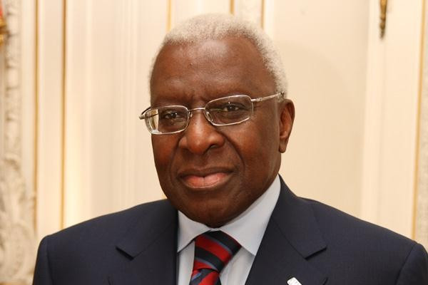 Former IAAF President Lamine Diack has stepped down as an honorary member of the IOC ©Getty Images