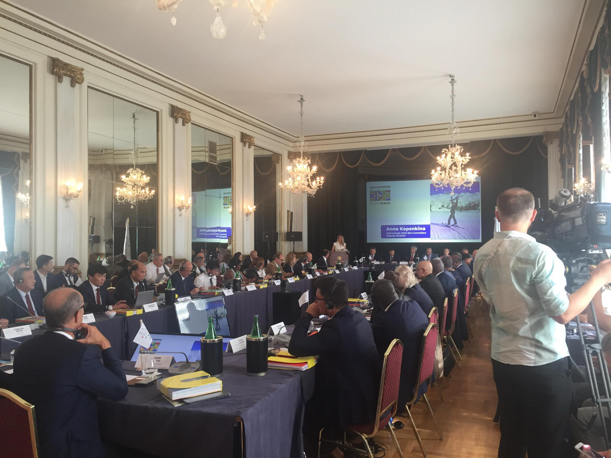 Lucerne 2021 and Chengdu 2021 present progress report to FISU Executive Committee