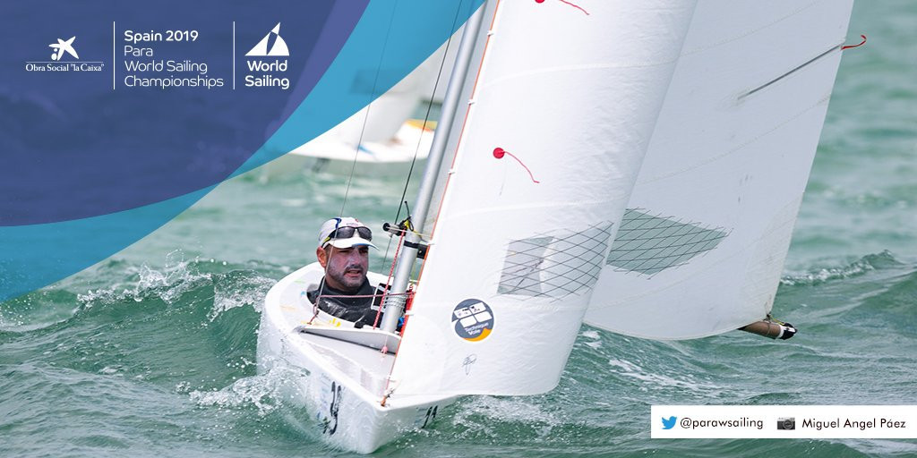 Seguin tops 2.4mR standings after first day of Para World Sailing Championships