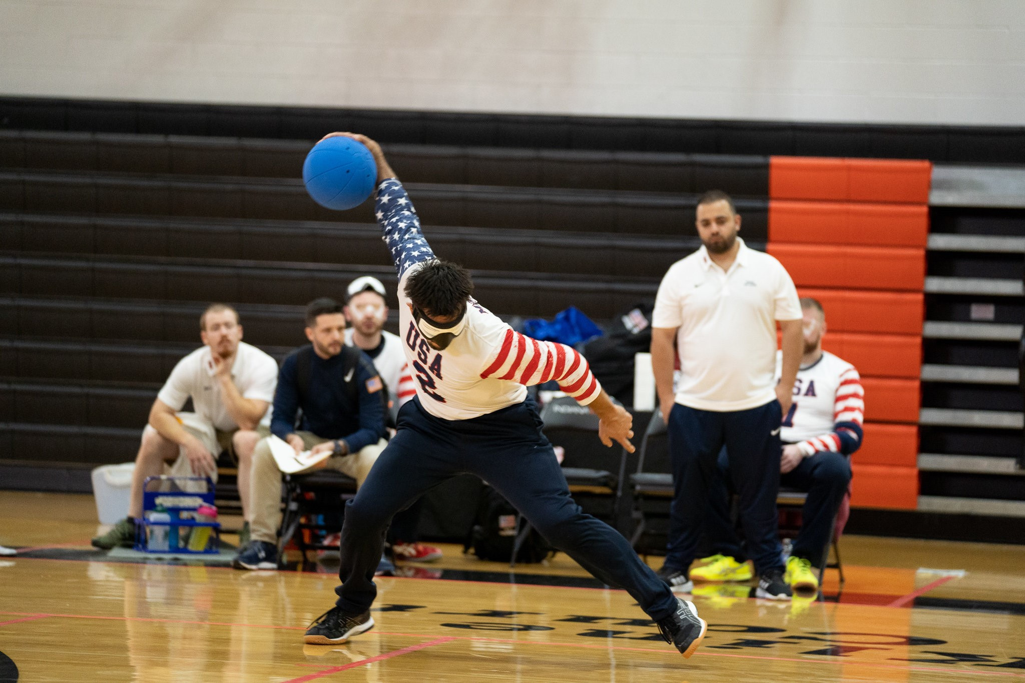 United States men bounce back with two wins at IBSA Goalball International Qualifier for Tokyo 2020