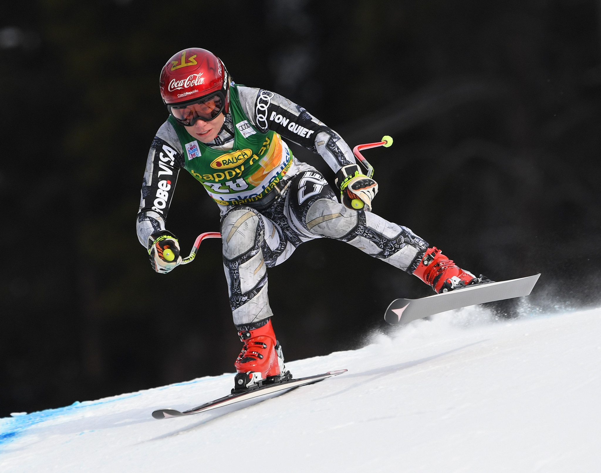 The FIS Alpine World Cup in Lake Louise is Canada's premier skiing event ©Getty Images