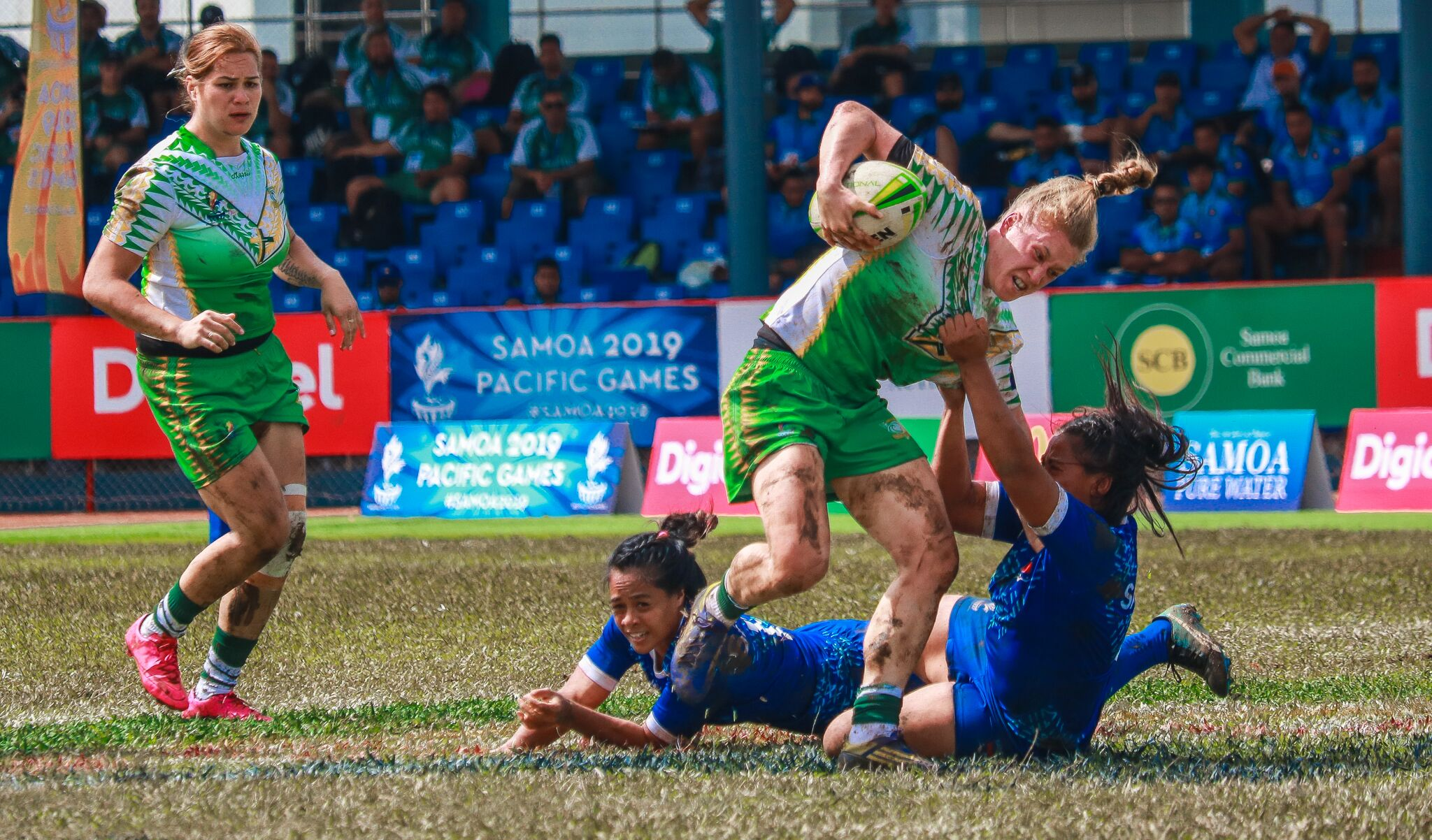 Samoa 2019: Day one of competition