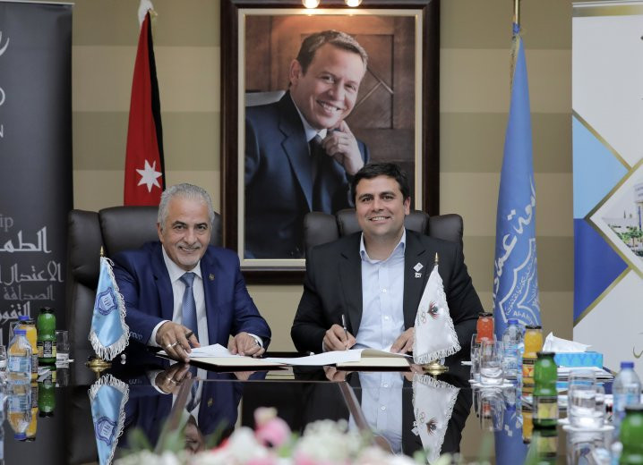 Jordan Olympic Committee agrees scholarship deal with university