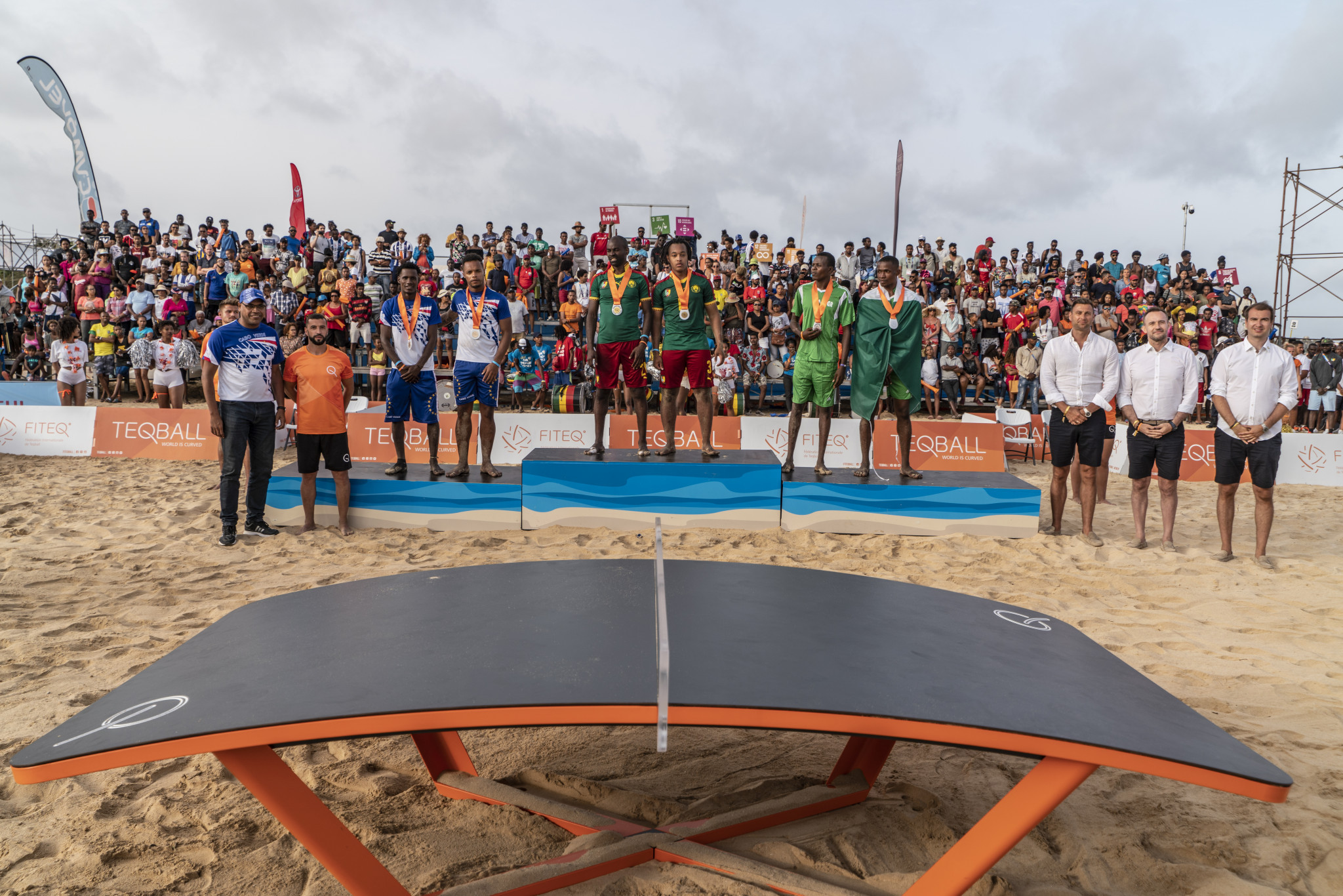 International Teqball Federation President delighted by sport's rising popularity in Africa