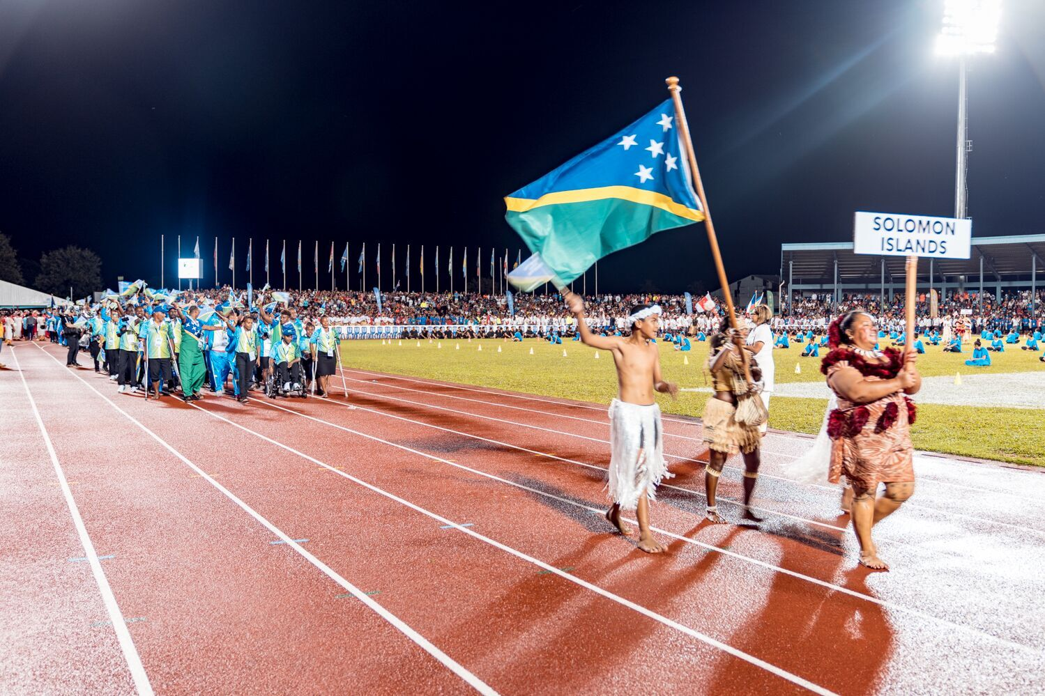 Solomon Islands will host the Pacific Games for the first time in 2023 ©Samoa 2019/Alvaro Hoyos Ramos