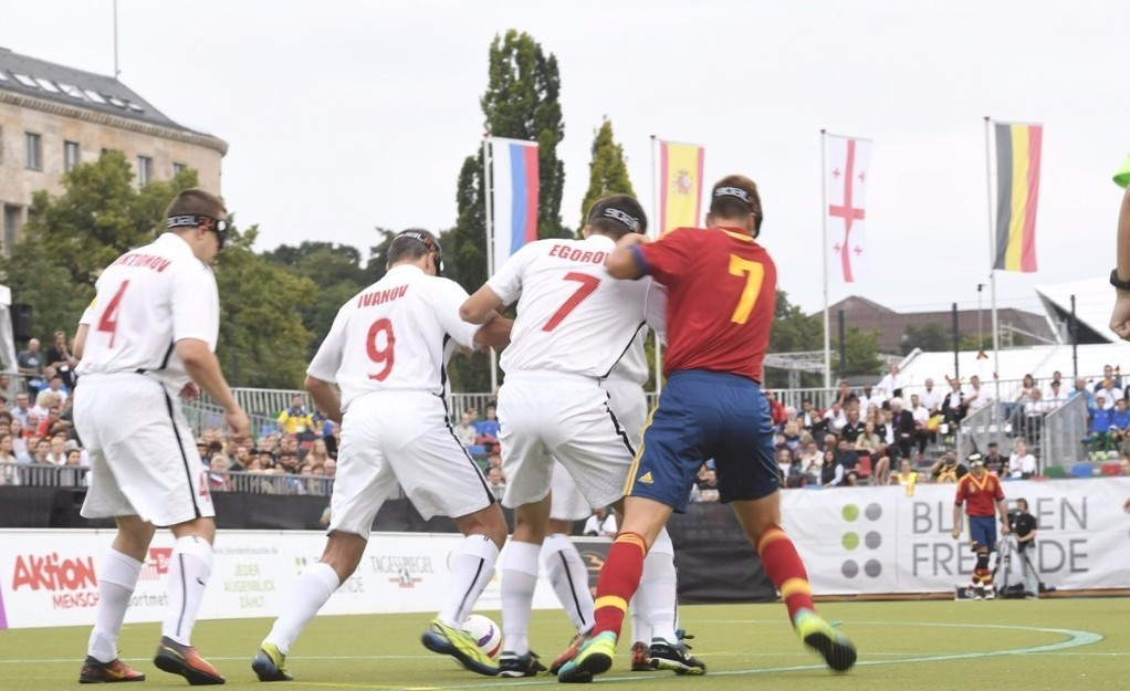 Draw made for 2019 European Blind Football Championships in Rome