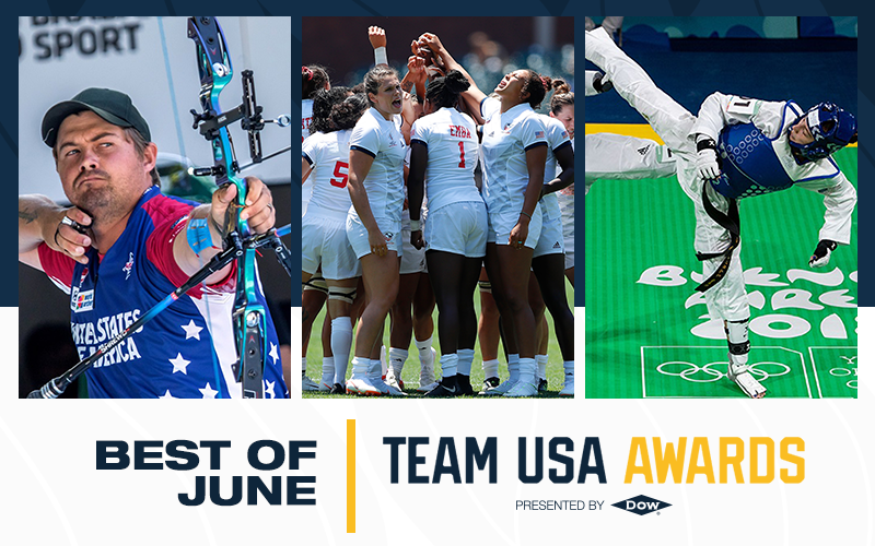 United States Olympic and Paralympic Committee reveal Best of June award winners