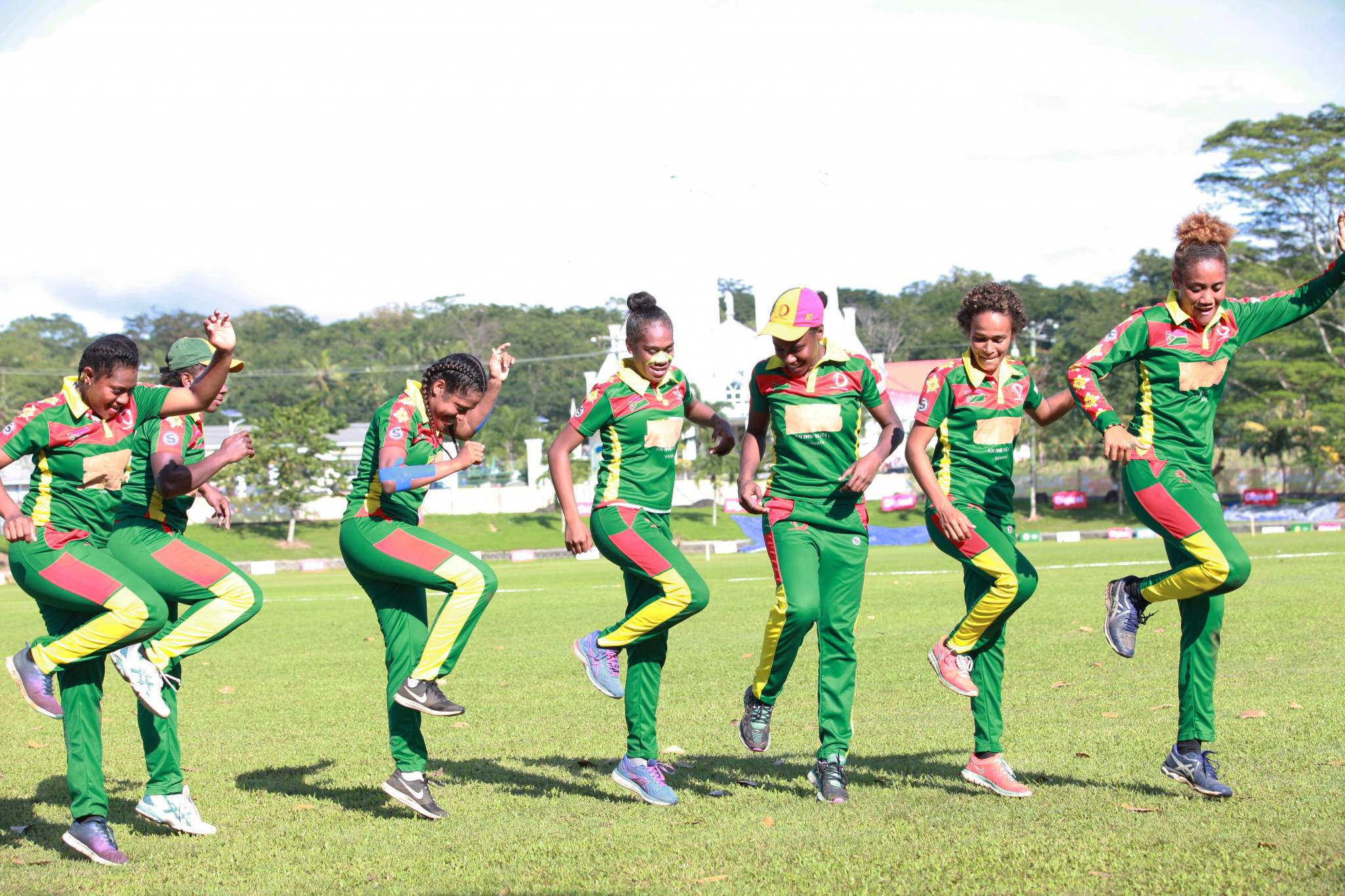 Vanuatu women's cricket win bronze at 2019 Pacific Games after being forced to crowdfund their campaign