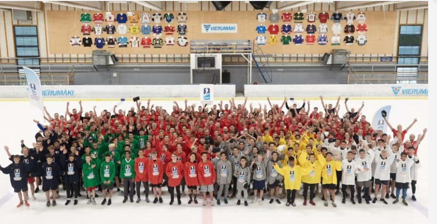The 16th edition of the International Ice Hockey Federation's Development Camp has drawn to a close in Vierumaki in Finland ©IIHF