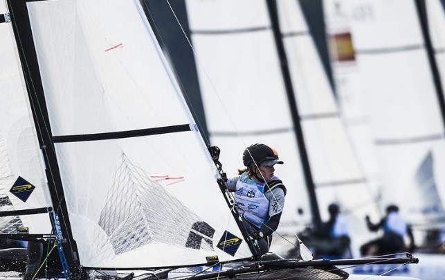 Youth Olympians enjoy strong start to Youth Sailing World Championships