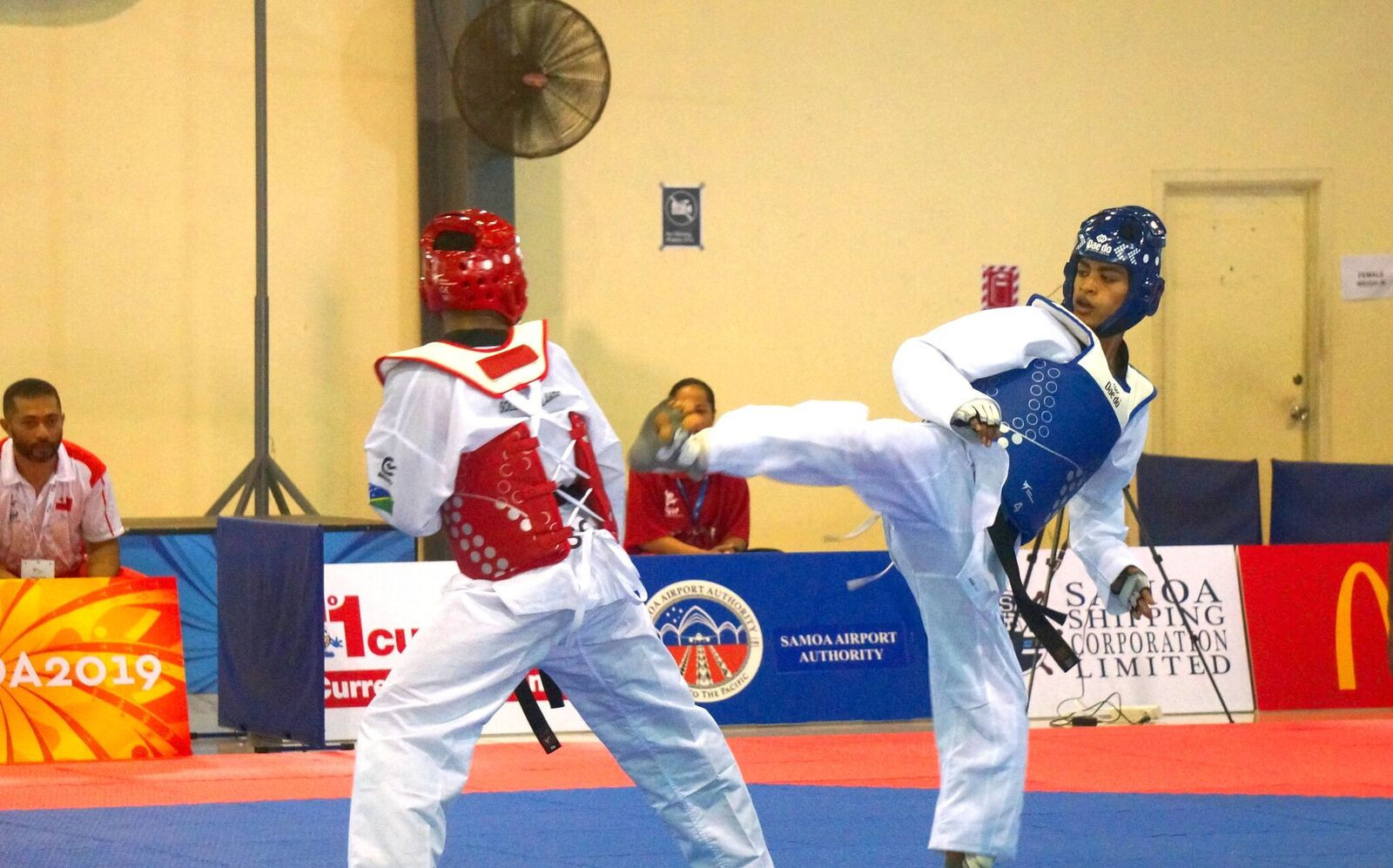 Australia won five of the six gold medals on offer on the first day of competition in the taekwondo at the 2019 Pacific Games ©Games News Service