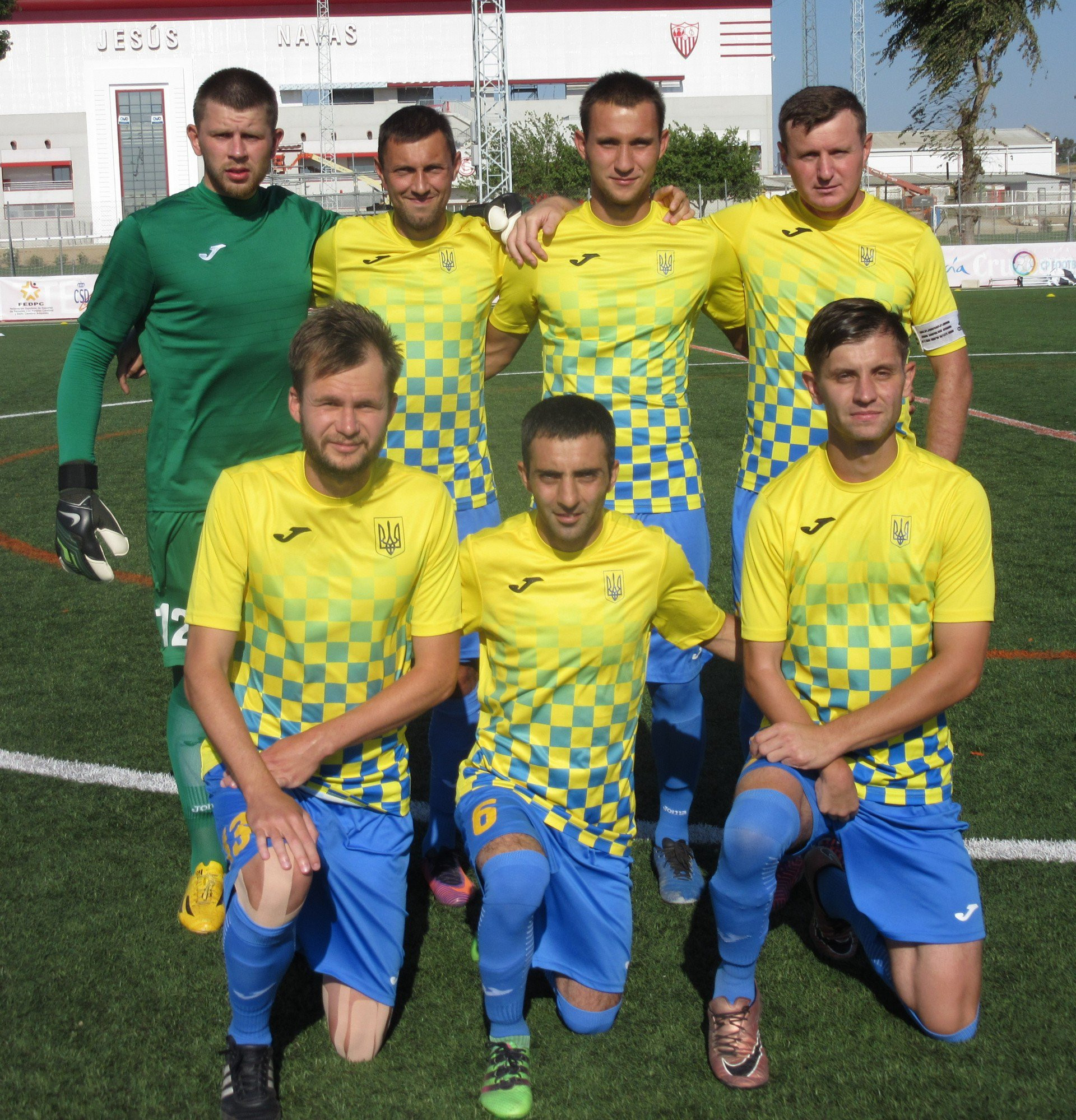 Ukraine are hoping to successfully defend their IFCPF World Cup crown ©IFCPF/Twitter