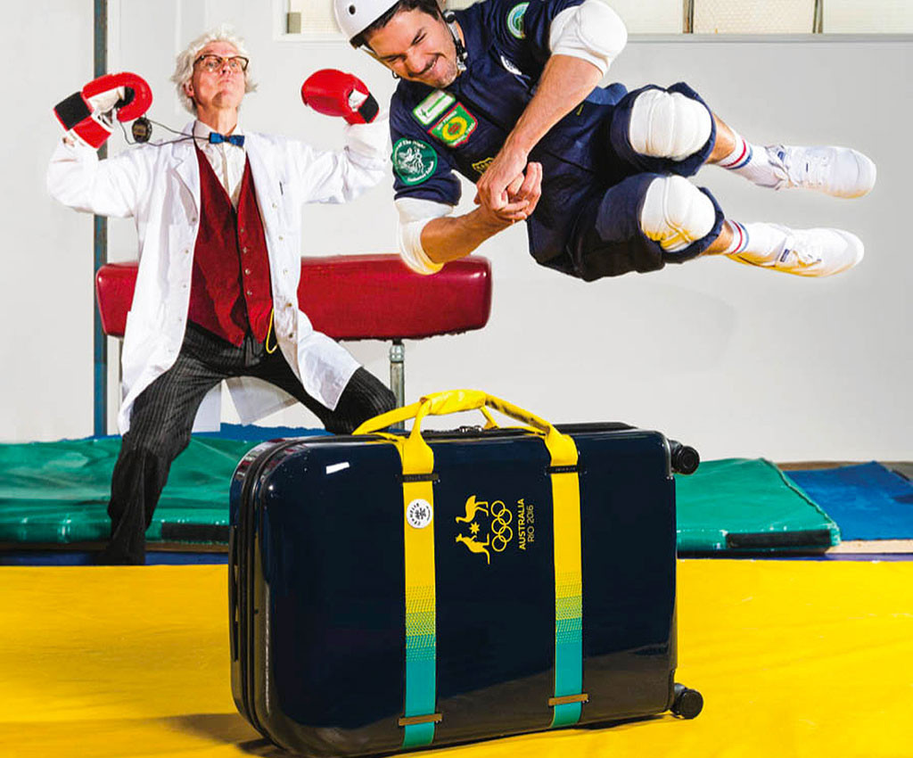 Crumpler had produced exclusive luggage for Australia's Olympic team at Rio 2016 ©Getty Images