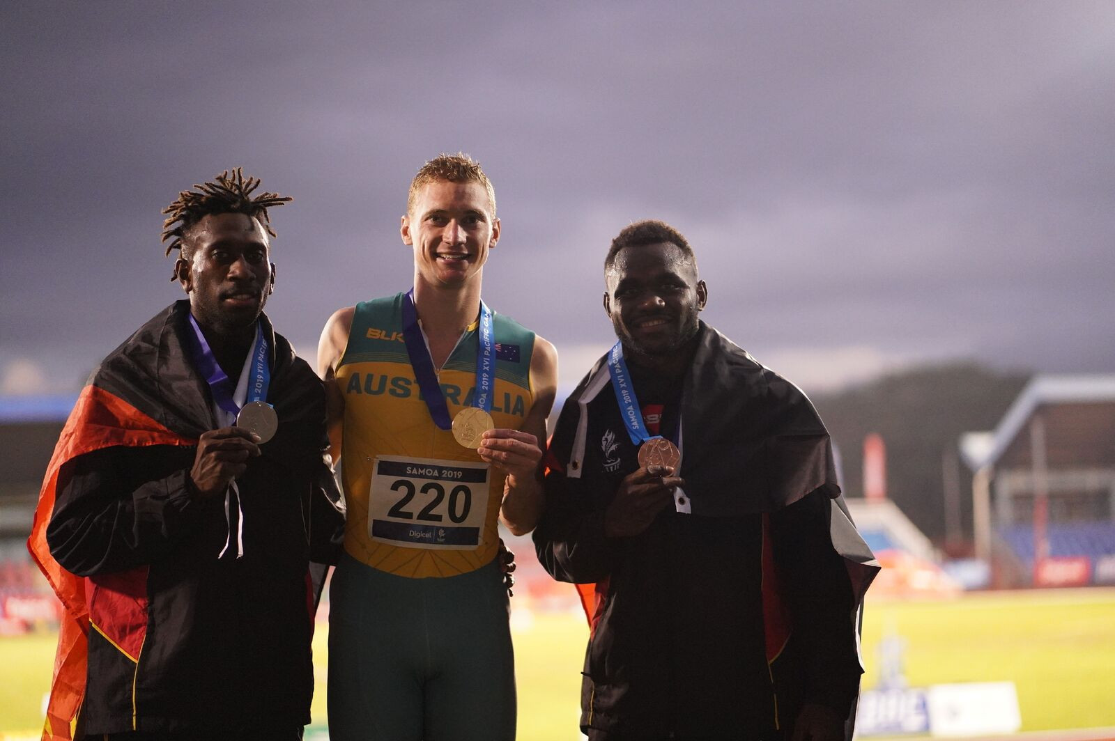 Records broken and gold medals won on day nine at 2019 Pacific Games