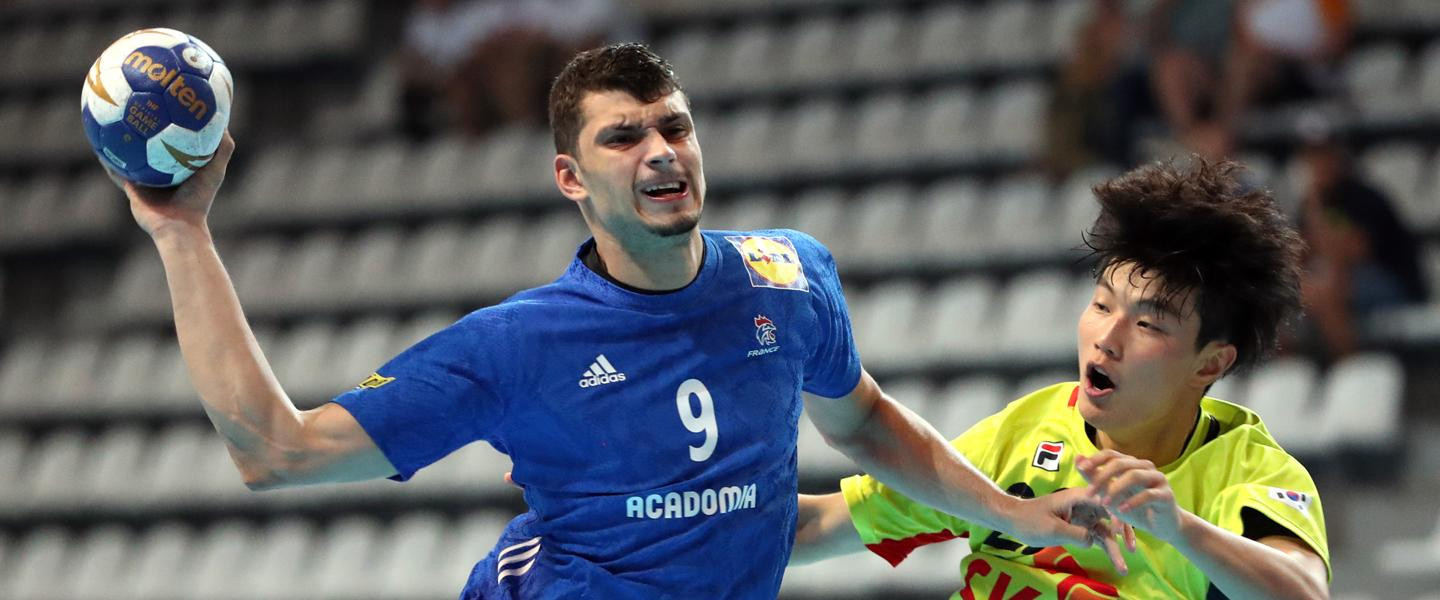 France were again in dominant form against South Korea at the Men's Junior World Handball Championship ©IHF