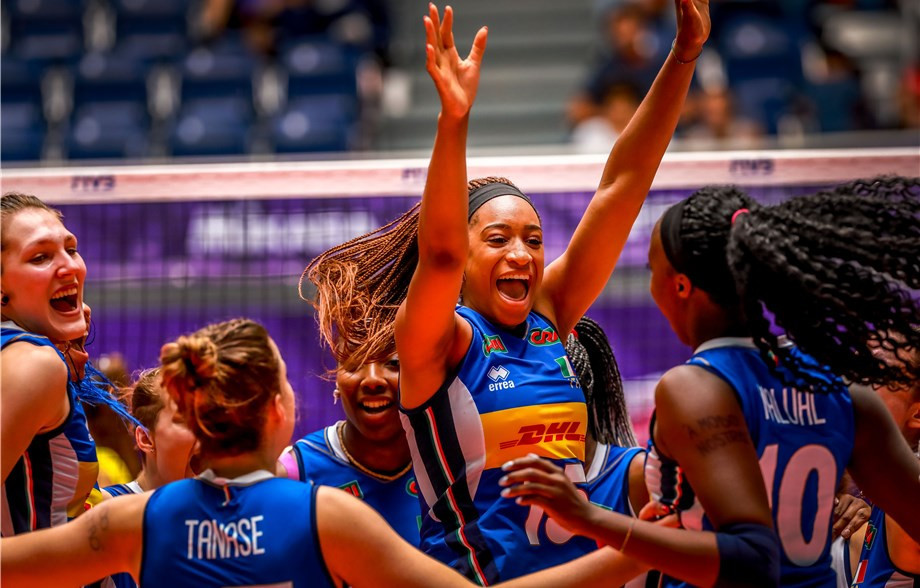 Italy charge on as holders China face exit door at FIVB Women's Under-20 World Championships
