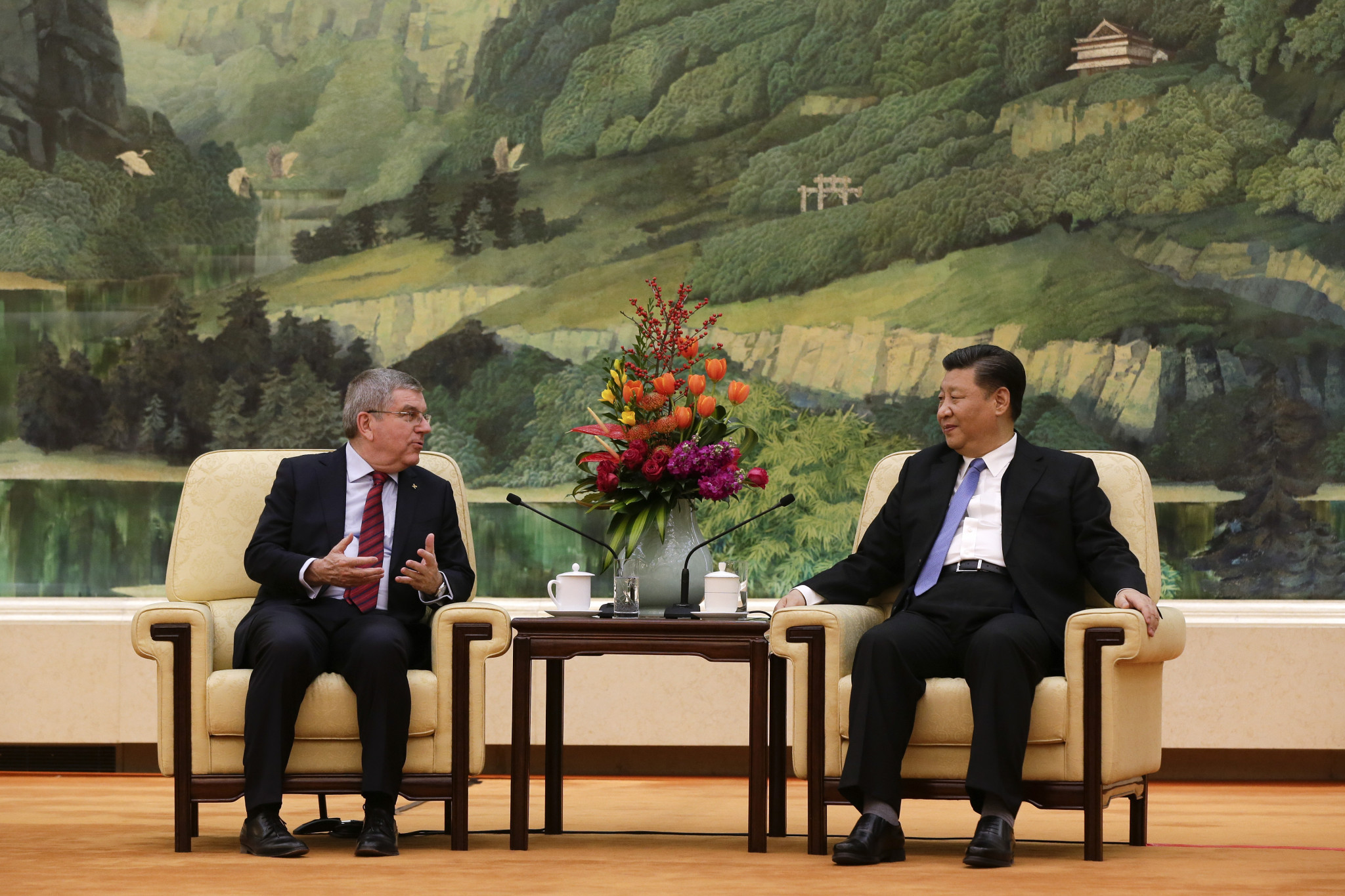 Chinese President Xi and IOC President Bach speak about Beijing 2022 during call