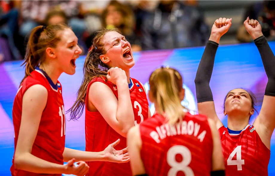 Italy, Japan, Russia and Turkey reach semi-finals at FIVB Women's Under-20 World Championship