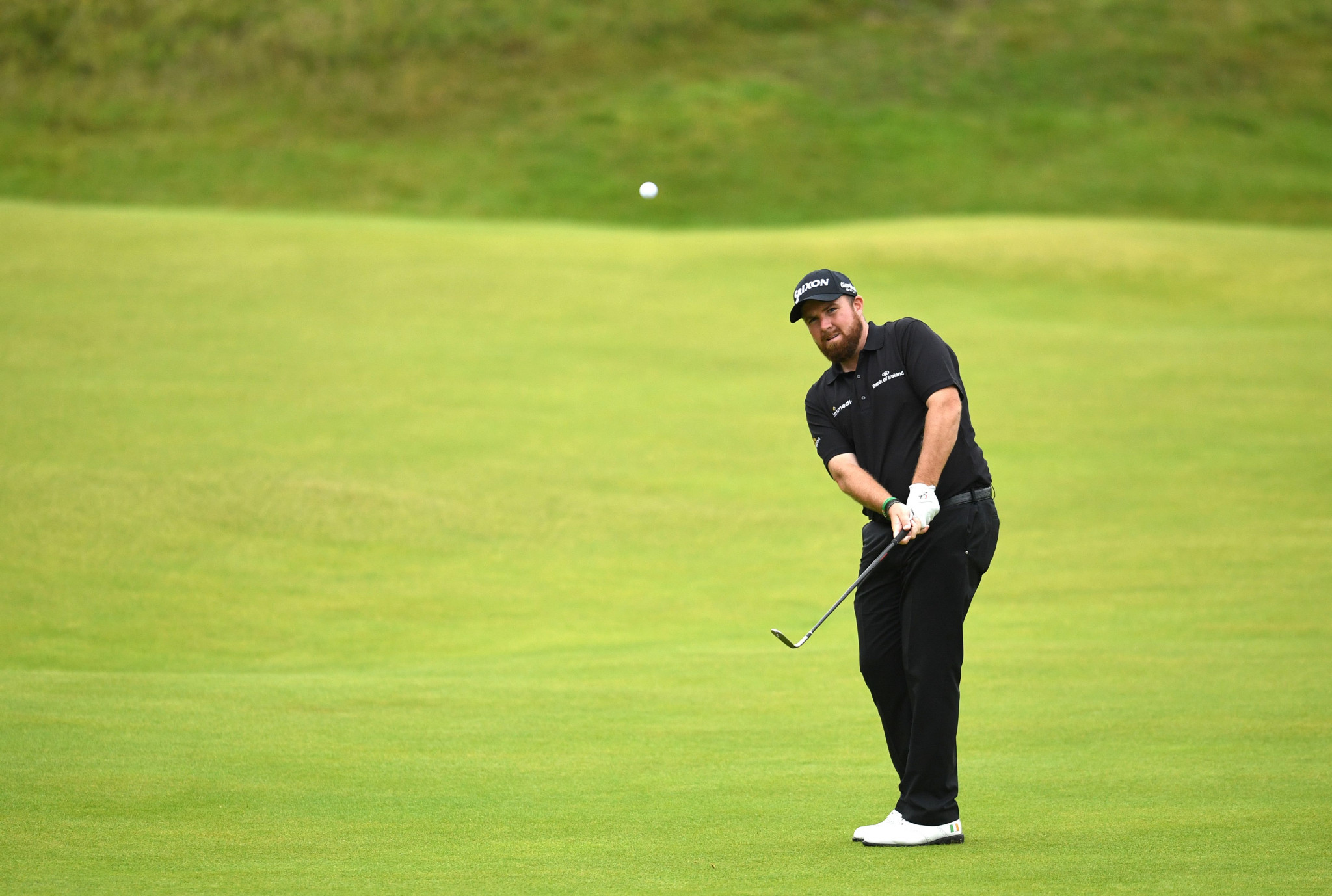 Holmes and Lowry tied for lead after second round at The Open
