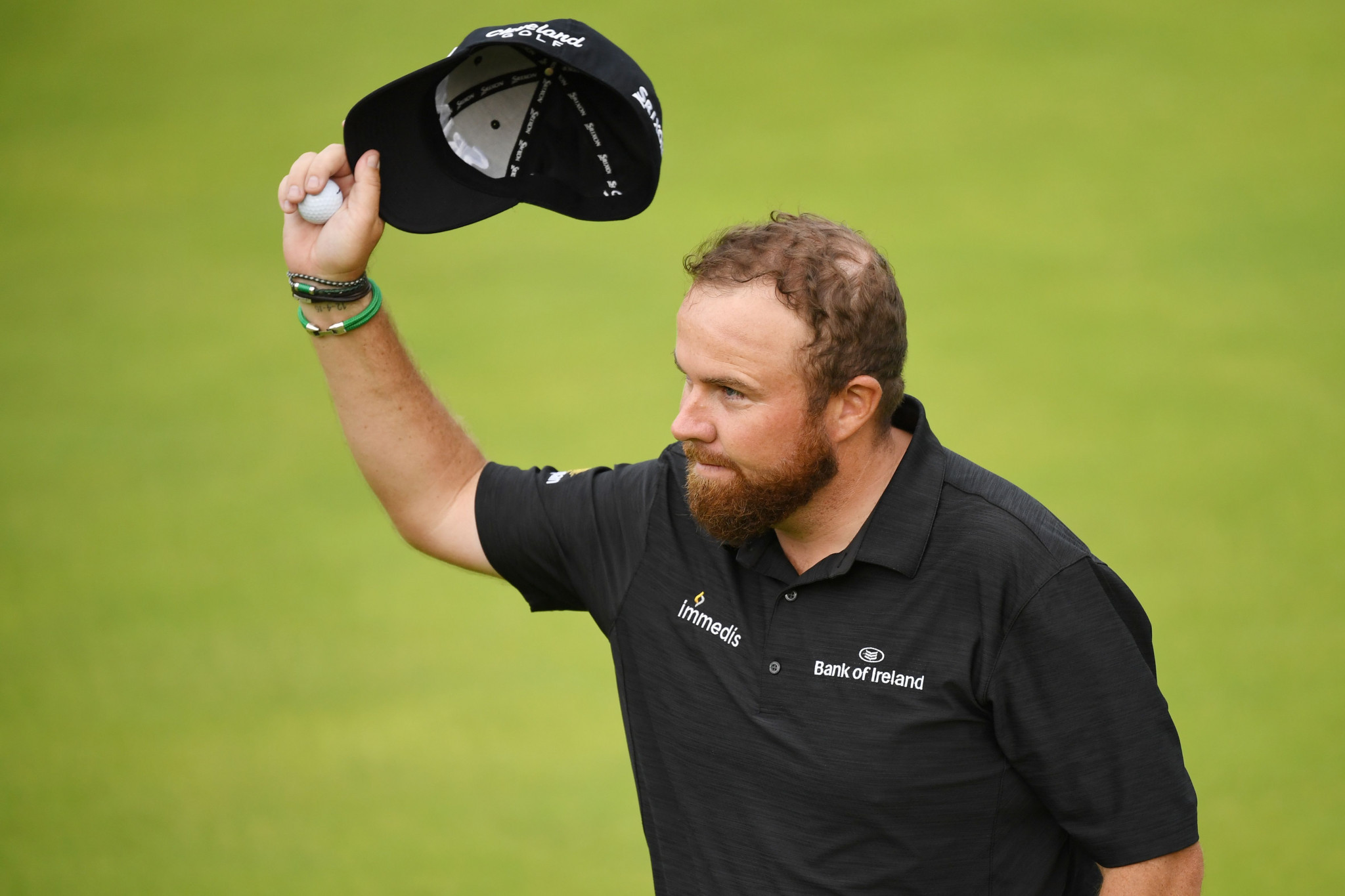 Lowry moves four clear with sensational round at The Open