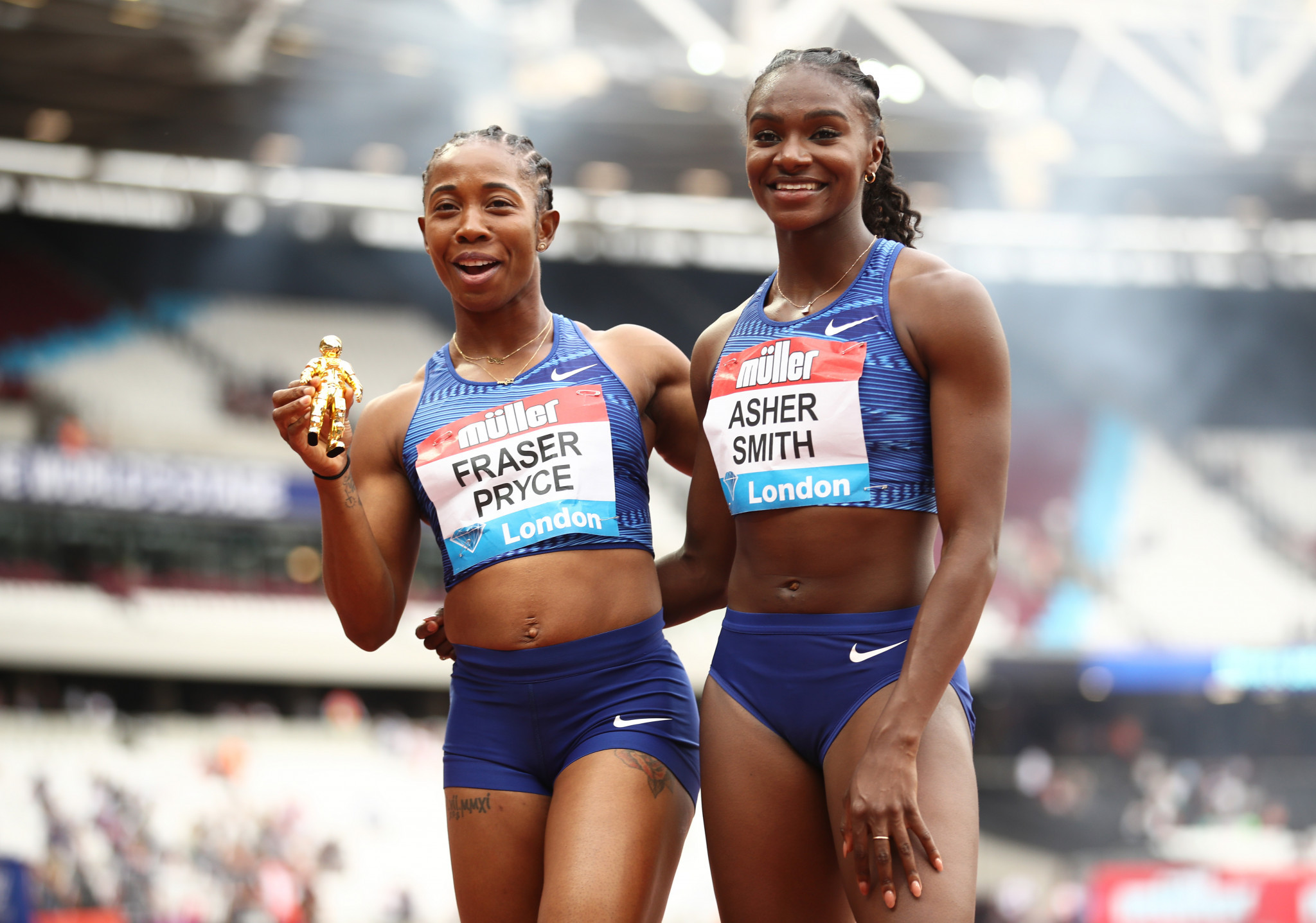Athletics' top stars were set to compete at the Anniversary Games in July ©Getty Images