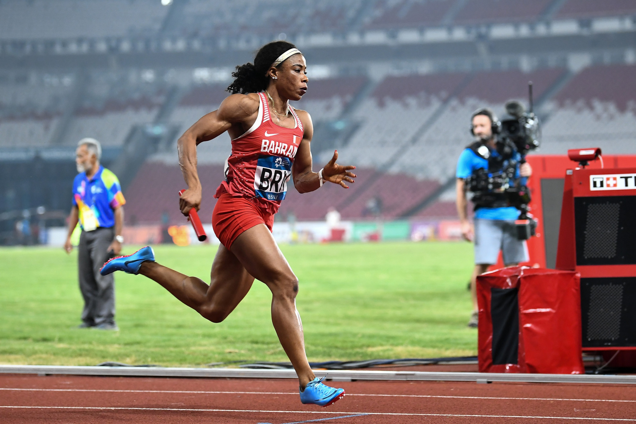 Kemi Adekoya has been banned for four years for doping ©Getty Images