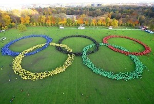 Hamburg 2024 set Guinness World Record with more than 6,000 supporters forming Olympic Rings