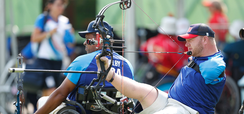 Para-archery will be broadcast from the Paralympics for the first time at Tokyo 2020 ©Tokyo 2020