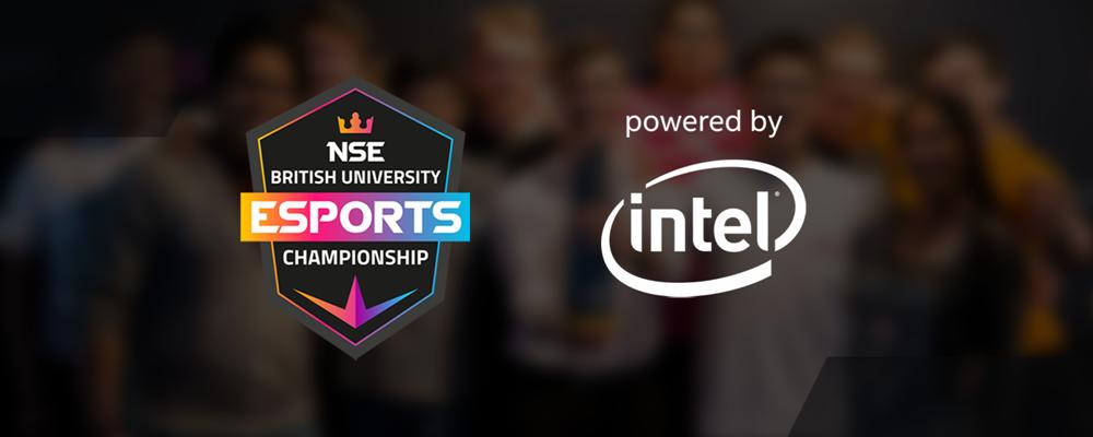 Intel becomes sponsor of British University Esports Championship