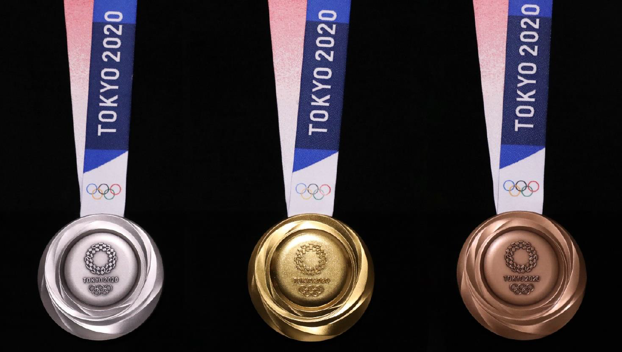The designs of the medals for the Tokyo 2020 Olympics have today been unveiled ©Tokyo 2020