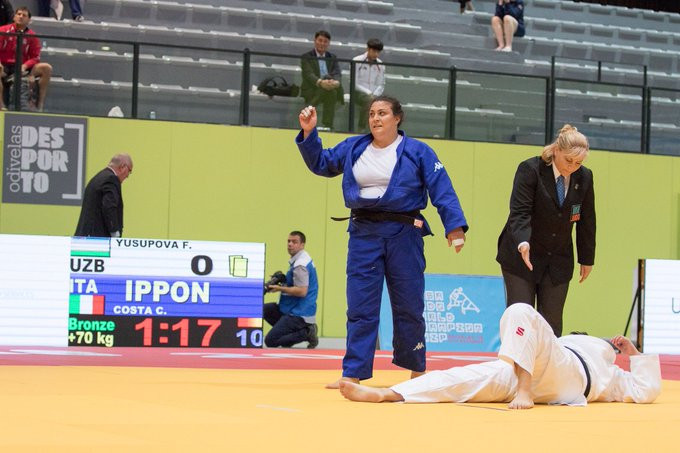 World bronze medallist Costa leads strong home team at IBSA Judo European Championships in Genoa
