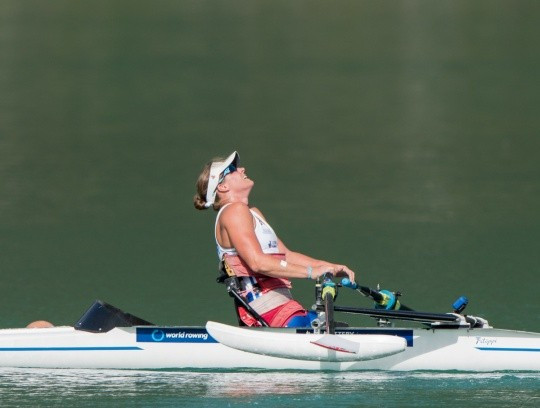 Morris tops rankings at GB Rowing Team's Para-rowing assessment trials as road to Rio 2016 begins