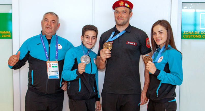 Moldova won one silver and two bronze medals at the 2019 European Games in Minsk ©European Sambo Federation