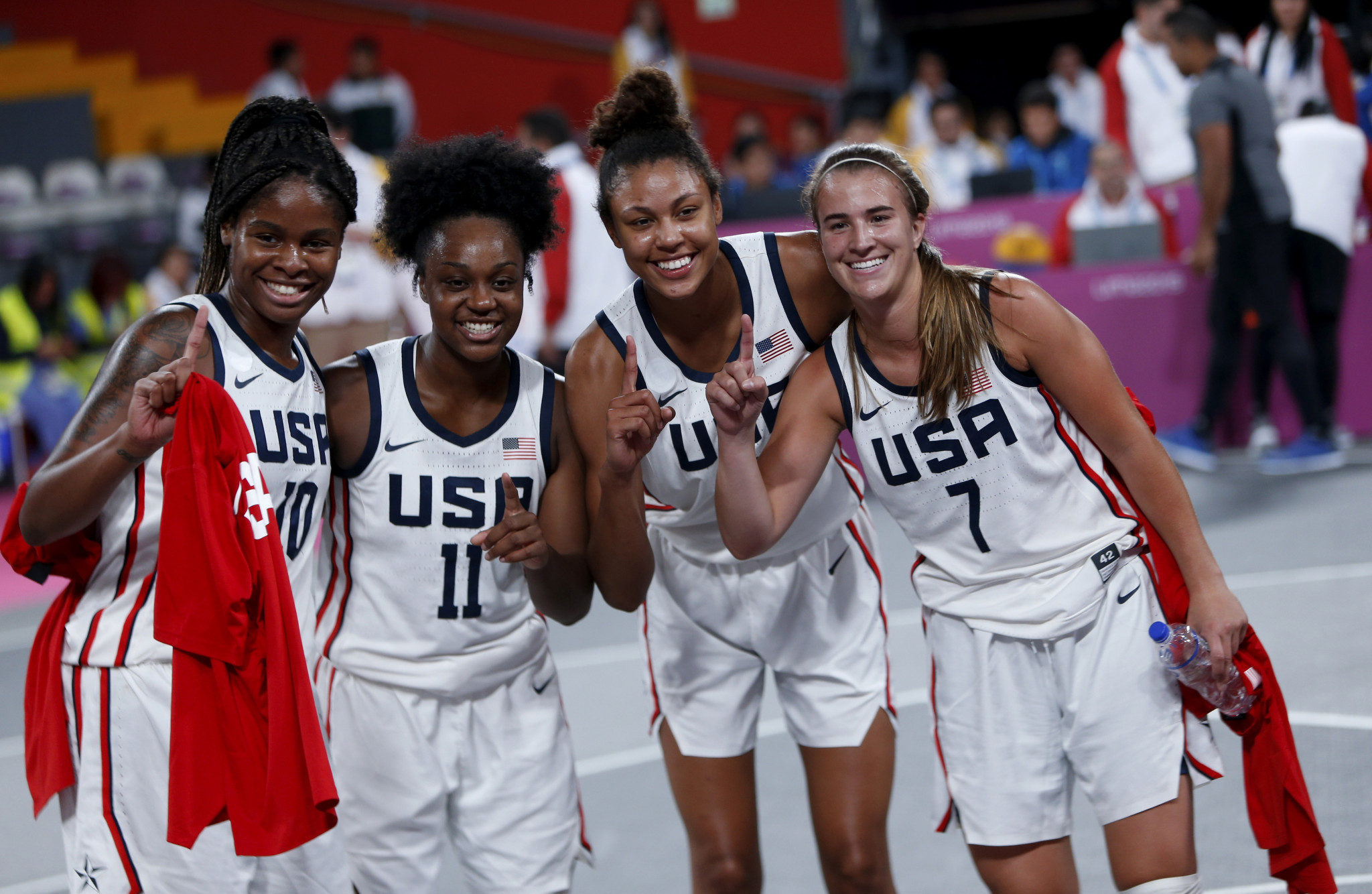 United States warm up for Tokyo 2020 with double victory in Lima 2019 3x3 basketball