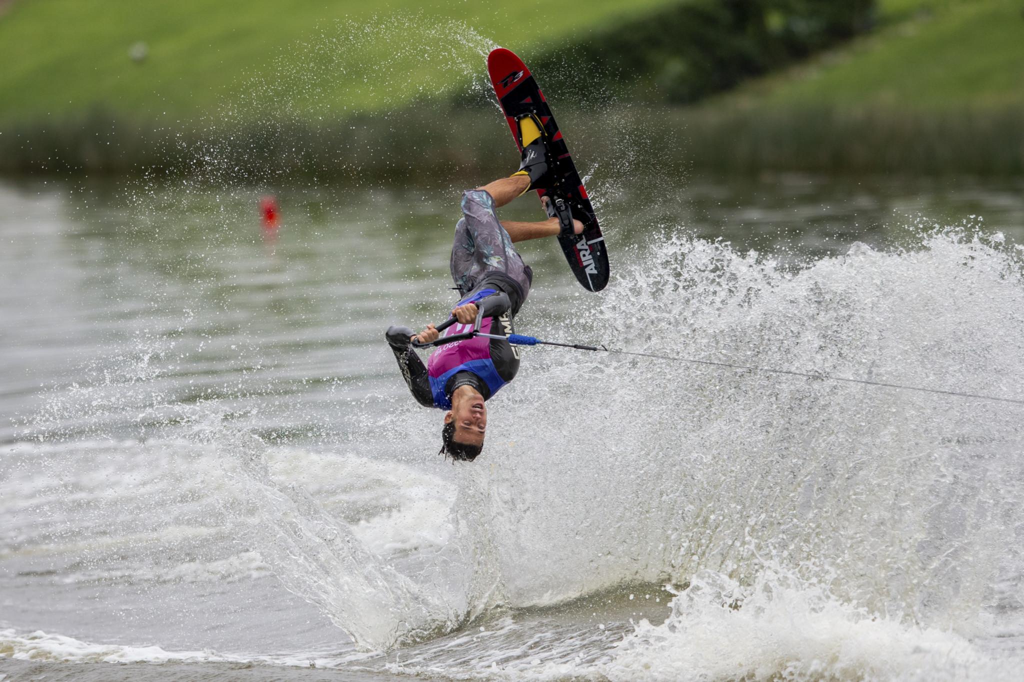 Water-ski makes a splash at Lima 2019
