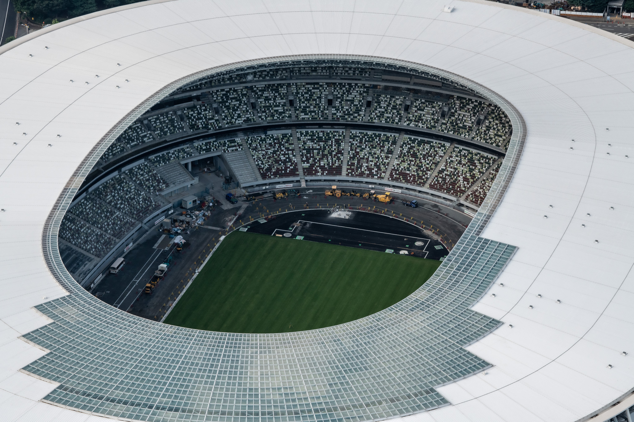 Studies around the New National Stadium in Tokyo have suggested temperatures could rise to 31 centigrade at the start of next year's Olympic marathon ©Getty Images