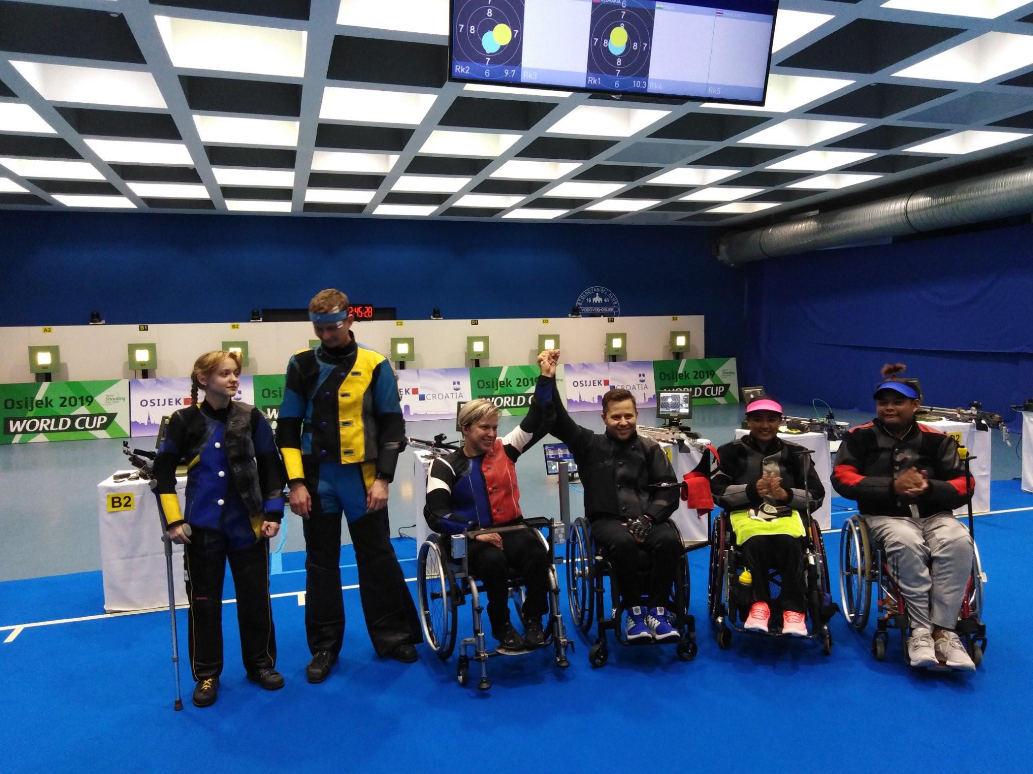 Vadovičová grabs third gold of World Shooting Para Sport World Cup